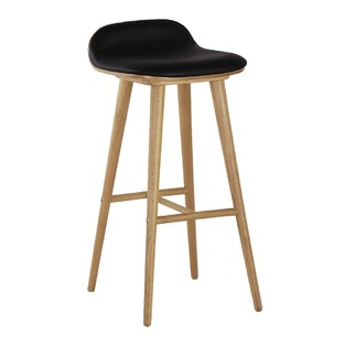 Capa Leather Counter Stool