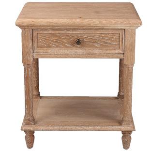 Harriett American Oak Bedside Table