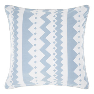 Blue Malena Euro Pillowcase
