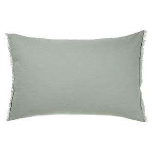 Sage Maison Fringe Standard Pillowcase