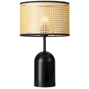 Lois Metal & Rattan Table Lamp