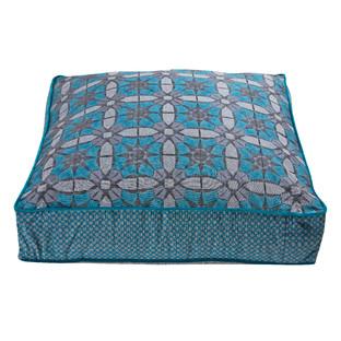 Square Marrakesh Glass Floor Cushion