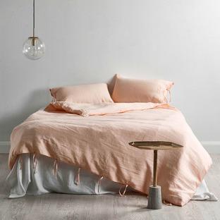 Bisque Linen Quilt Cover Set