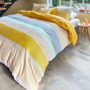 Yellow Kata Cotton Sateen Quilt Cover Set