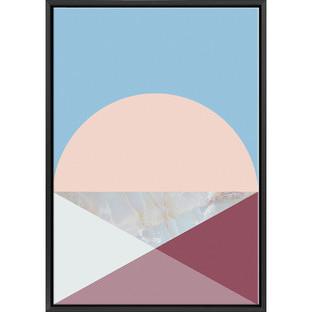 Geo Triangle Cone I Print