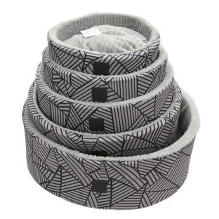 Fellam Round Stripe Bed