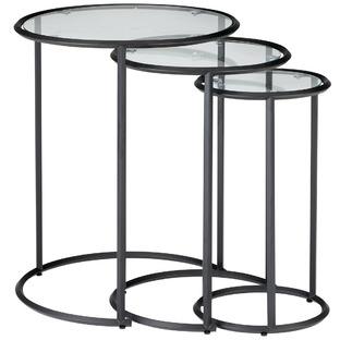 3 Piece Riverside Nesting Side Tables Set