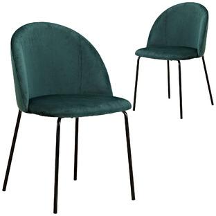 Aria Velvet Dining Chairs (Set of 2)