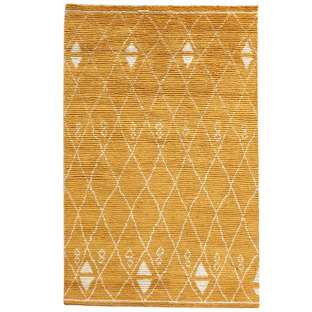 Marigold Ostin Hand-Knotted Wool Rug