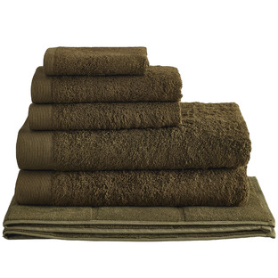 Olive Spa 600GSM Bamboo & Turkish Cotton Towel Set