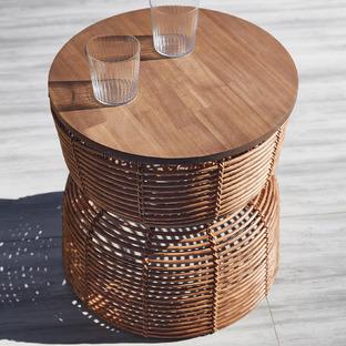 Bel Poly-Rattan Al Fresco Side Table