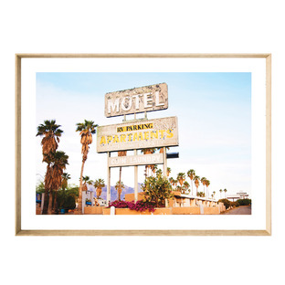 Bohemian Motel Framed Printed Wall Art