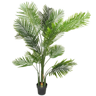 180cm Potted Faux Palm Tree