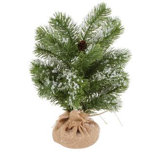 Snowy Pine Tabletop Christmas Trees (Set of 2)