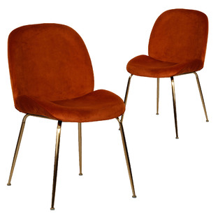 Asta Velvet Dining Chairs (Set of 2)