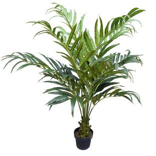 150cm Potted Faux Kentia Palm Tree