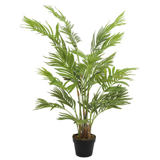 120cm Potted Faux Areca Palm