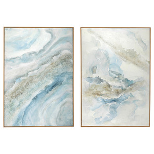 Gale Framed Canvas Wall Art Diptych
