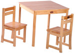 Tikk Tokk Boss Square Table and Chair Set