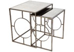 Lexington Home Boston Mirrored Nesting Tables