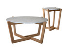 Estudio Furniture Monterey Natural Coffee & Side Table Set