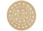 Network Rugs Natural Daisy Jute Rug