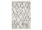 Network Rugs Monochrome Zohra Fringed Rug