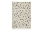 Network Rugs Natural Tan & Brown Zohra Fringed Rug