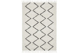 Network Rugs Monochrome Buchra Fringed Rug