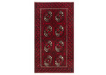 Network Rugs Wine Hand-Knotted Wool Balouchi Rug