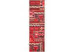 Network Rugs Red & Cream Wool Persian Patchwork Rug