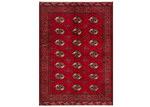 Network Rugs Red & Cream Wool Persian Torkaman Rug