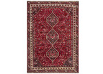 Network Rugs Maroon Wool Persian Shiraz Rug