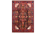 Network Rugs Red & Black Wool Nahavand Rug