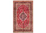 Network Rugs Ruby & Black Wool Persian Kashan Rug
