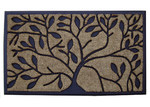Solemate Door Mats 45cm Rubber and Coir Tree Door Mat