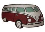 Solemate Door Mats PVC Coir Kombi Door Mat in Red