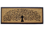 Solemate Door Mats Rubber and Coir Tree of Life Door Mat