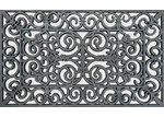 Solemate Door Mats Rubber wrought iron look