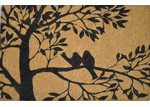 Solemate Door Mats FM2 Coir Bird Tree