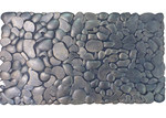 Solemate Door Mats Rubber Copper  Pebbles