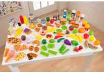 KidKraft Deluxe Tasty Treats Play Food Set