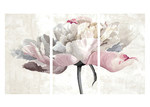 A La Mode Studio Statement Flower I Triptych