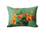 Vintage Beach Shack Poppies Cushion Cover