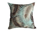 Vintage Beach Shack Bronze Palm Cotton Cushion
