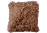 NSW Leather Camel Mongolian Sheepskin Cushion