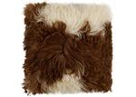 NSW Leather Highland Sheepskin Cushion