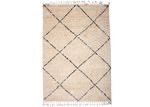 Atlas Ivory Nadia Lattice Rug