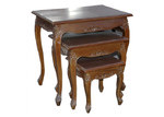 VC Living Queen Anne Nesting Tables