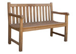 Cottage & Castle Classic Teak Outdoor Bench Seat